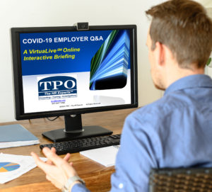 COVID-19 Employer Q&A @ TPO's VituaLive Institute Online